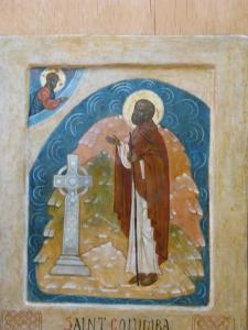 Ο άγιος Κολούμπα